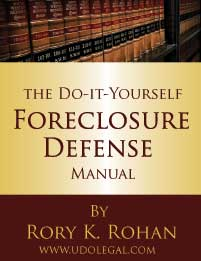 Foreclosure Help - The Definitive Guide to Foreclosure Defense.  Defense Tactics in Layman's terms - includes motions, pleadings and more. Review Now.